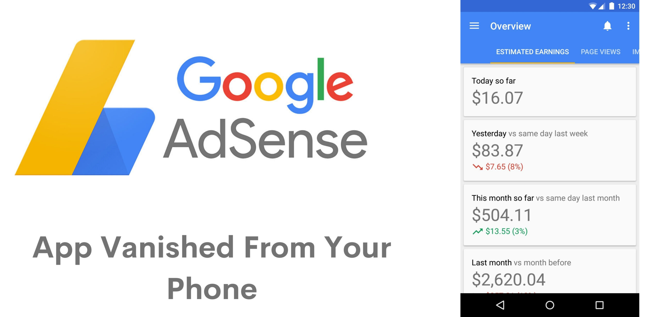 Google AdSense for Android app stops working